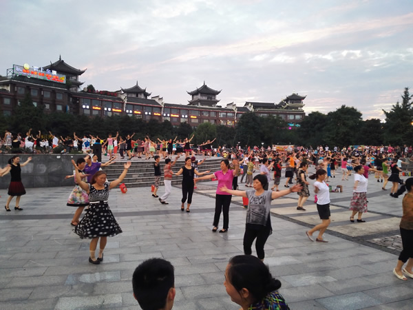 Square Dancing in Emeishan