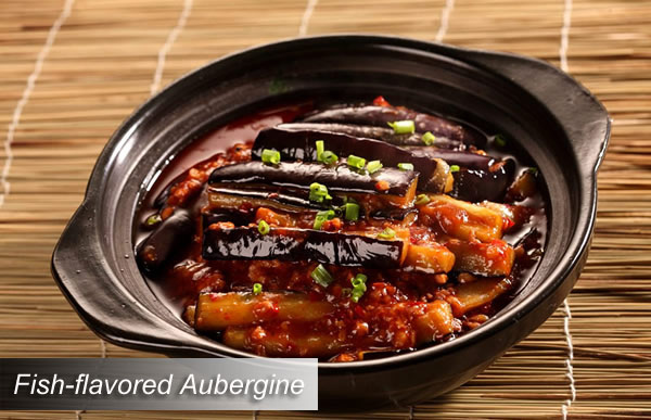 Fish-flavored Aubergine